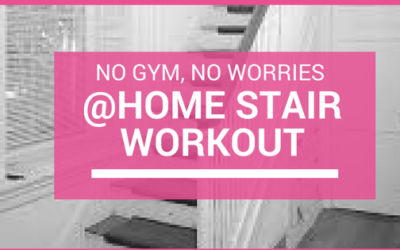 No Gym, No Worry: Stairs Routine